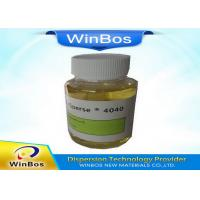Yellowish Polymeric Dispersing Agent Dispersing Nano Powder In Water ISO 9001 2008 Approved Manufactures