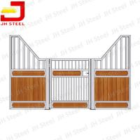 Luxury Prefab Used Bamboo Wooden Horse Stable Stall Front Panel Manufactures