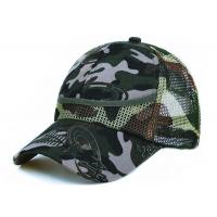 100% Polyester Mesh Unisex Adjustable Sport Casual Cap Manufactures
