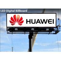Professional outdoor led billboard advertising Consulting RGB Chip With Iron Cabinet Manufactures