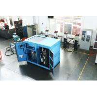 Energy Saving Dual Stage Compressor , Oil Lubricated Portable Air Compressor Manufactures