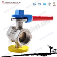Cast iron threaded disc type dn150 butterfly valve manufacture Manufactures