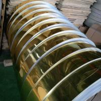 China Gold Mill Finished Mirror Polished Aluminum Sheet For Electric Appliance Panel on sale