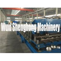 China Safe High Efficient Floor Deck Roll Forming Machine 50HZ 3 Phase on sale