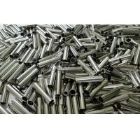China Brass machined parts with nickel plating , barrel with various diameters available on sale