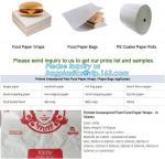 Food paper wraps, food paper bags,pe coated paper rolls, sandwich paper,hot dog