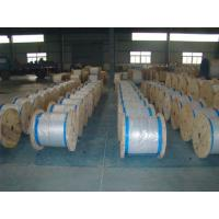 Water Resistance Galvanized Steel Wire Cable , Stranded Steel Wire 100 Kgs-300 Kgs Packing Manufactures