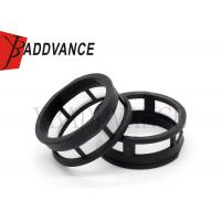 Round Black Micro Fuel Filter For Petrol Fuel Injector Small Size Lightweight Manufactures