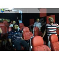 Luxury Electric System 5d Movie Theatre 2DOF Motion Seats For Shopping Mall Manufactures