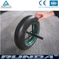 China 14inches sizes steel spoke rim solid rubber wheels for sales,trolley wheels for sales on sale