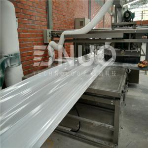Standard FRP fiberglass lighting sheet/corrugated sheet making machine Manufactures