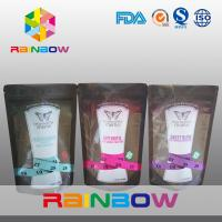 Food Grade Reusable 150g Zipper Stand Up Pouches for Energy Powder Manufactures