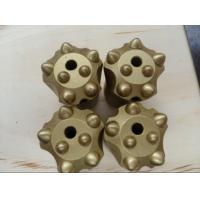 """1 1/4"""" Rock Drilling Tools , Tapered Tungsten Carbide Button Bits Manufactures"""