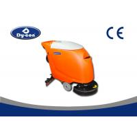 550W Suction Motor Hand Held Floor Scrubber Machine Linetex Rubble Blade Manufactures