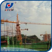 QTZ250 Topkit Tower Crane TC7030 Grue Tour 12 ton with A.C. and Crane Cabin Manufactures