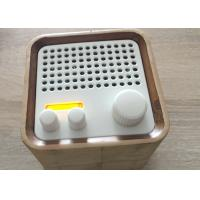 Quality Portable FM RadioWooden Bluetooth Speaker Wireless For TV / Iphone for sale