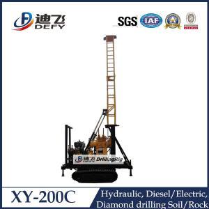 XY-200C concrete core drilling machine for 200m depth hot sale Manufactures