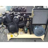 Water Cooling Piston Air Compressor Reciprocating Three Stage With Silencer Manufactures