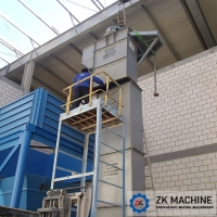 China Auger Filler and Single Bucket Conveyor Prices from ZK on sale