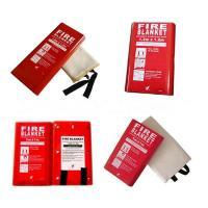 1.8m*2m 100% Fiberglass Fire Blanket Fire Resistant Blanket For Welding Manufactures