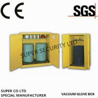 China Single Door Hazardous  Chemical Drum Flammable Storage Cabinet For Flammable Liquids Steel Stainless Steel on sale