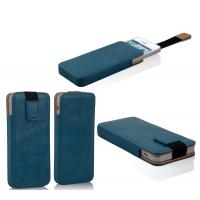 Fashion iPhone5 Leather Flip Case For Waterproof Mobile Phone Shells With Straps Manufactures