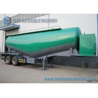 26 CBM Cement Powder Trailer Carbon Steel Tandem Semi Trailer Manufactures