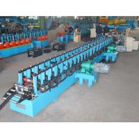Steel Sheet Roll Forming Machine For PV Solar Ground Mount Bracket / Solar Panel Structure Manufactures