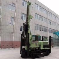 Green Pile Drilling Machine / SLY485 200 Meter Rock Drilling Rig High Speed Crawler Mounted Manufactures