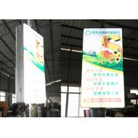 Double Sides Viewing Illuminated Sign Box For LED Street Pole Light Manufactures
