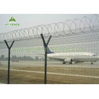 China Decorative Garden Welded Mesh Fence / Square Wire Mesh Fence With Erosion Resistance on sale