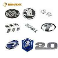 Durable ABS OEM Injection Molding For Chrome Electroplating Auto Car Emblems Manufactures