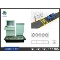 Airport Trains X Ray Security Scanner / Permanent Security Barrier Under Vehicle Surveillance System Manufactures