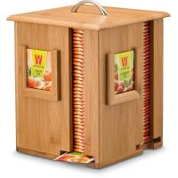 China Square Bamboo Storage Box , Large Wooden Tea Box FDA Certificate For Home / Hotail on sale