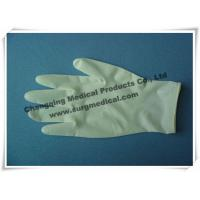 Surgical Medical Examination Glove Textured / Soomth Latex Powdered / Powder Free Manufactures