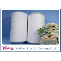 China Plastic Tube Spun TFO High Tenacity Polyester Yarn 30/1 30/2 30/3 Raw White or Dyeing Color on sale