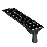 10-50w IP66 Solar Street Lamp All In One Intelegent Phosphate Lithium Battery Manufactures