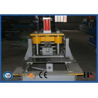 Quality Metal Steel Frame Making Machine , Solar Strut Channel Roll Forming Machine for sale