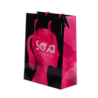 China Eco Friendly Branded Paper Bags ,  Custom Printed Gift Bags With Logo on sale