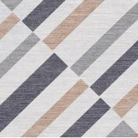 China Geometric Fabric Style Rustic Porcelain Tile Inkjet Printing Technique on sale