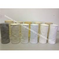 Easy Cleaning Dust Collector Filter Bags 550 GSM To Improve Filter Efficiency Manufactures