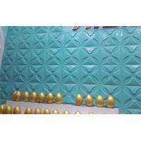 Leaf Maple Bamboo Embossed Exterior Wall Panels 3d Wave Board for KTV Manufactures