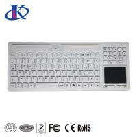 Wireless Waterproof Keyboard Silicone Medical Usage With Touchpad / Numeric Pad Manufactures