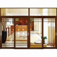 Aluminum Lift Sliding Door with Airtight and Watertight Performances Manufactures
