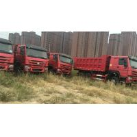 China 80km/H Mining Dump Truck / 30 Tons Tipper Truck With ZF8098 Hydraulic Steering ZZ3257N3847A on sale