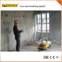 Quality Automatic Stable Rendering Machine , Cement Sprayer Machine Rendering Height Up To 3.5M for sale