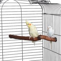 double ending natural hardwood perch for birds,small to medium Manufactures