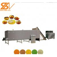 High Efficiency Bread Crumbs Machine Stainless Steel Material For Panko Manufactures