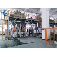 Quality Full Automatic Dry Mix Mortar Production Line 8 - 25T Per Hour With PLC Control for sale
