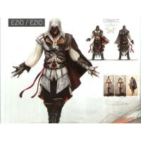 Game Costumes Wholesale Assassin's Creed II cosplay Ezio Auditore cosplay costume halloween Manufactures